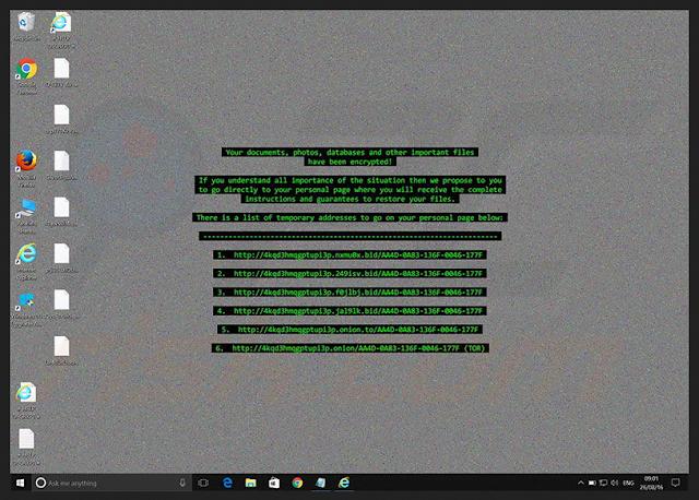 Komputer Anda Terkena Ransomeware Cerber3 ?, Ini Dia Cara Mengatasinya.