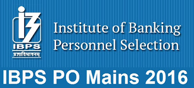 IBPS PO Mains 2016 Results Declared