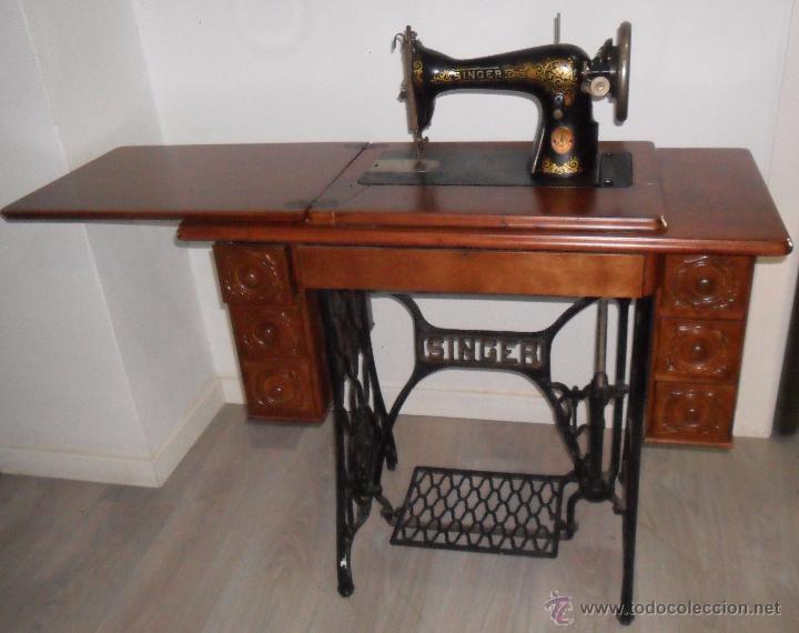 La máquina de coser de la abuela era Singer