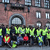 مسلمون في الدنمارك ينظفون مخلفات ليلة رأس السنة في كوبنهاغن و مدن دنماركية اخرى