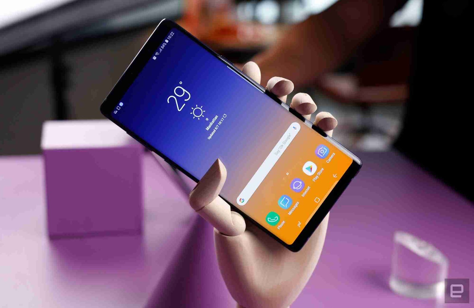 The Samsung Galaxy Note 9 Vs The Galaxy Note 8 Processor, RAM and Storage.