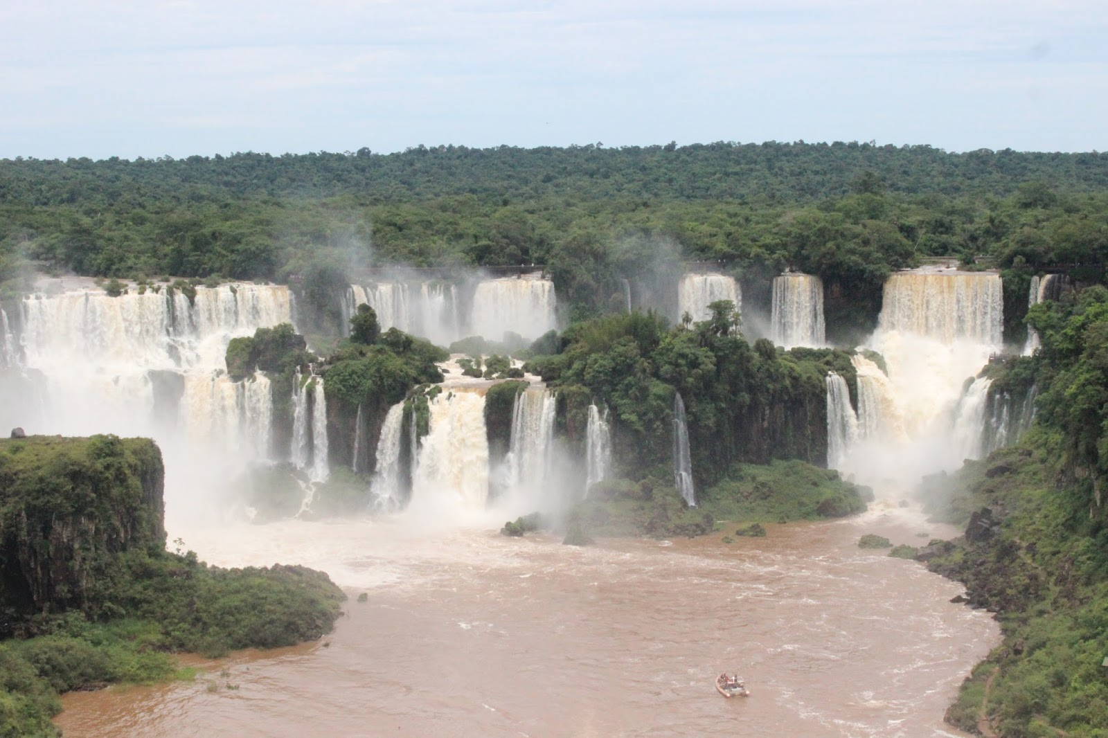 Cataratas del Iguazu Lado Brasileño