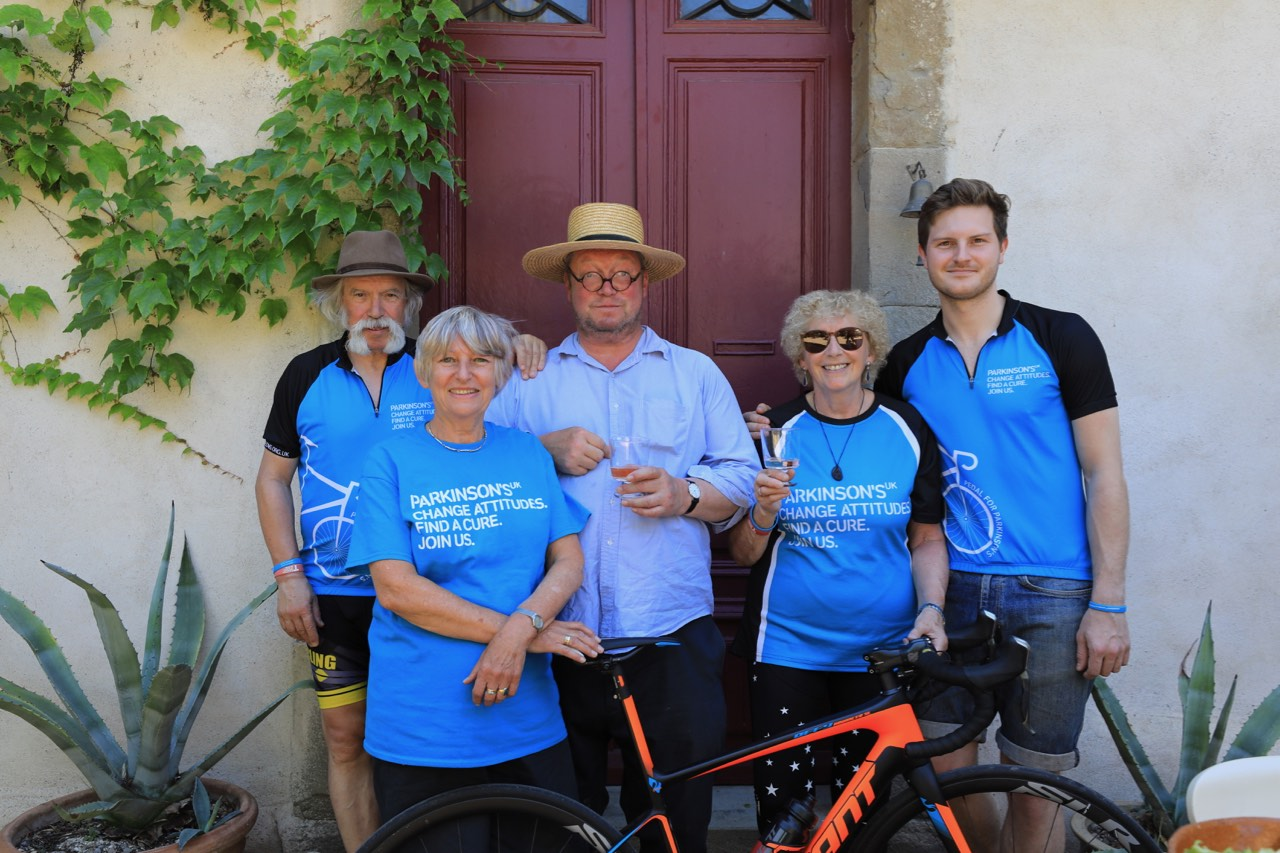 Jims Loire June 2017 Full Bike Pato Fx 4 Cycling Grouptrevor Gullivers House In Nearby Homps