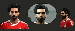 Face Mohamed Salah 2016 Pes 2013