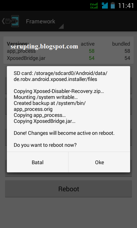 xposed, xposed framework, framework for android, framework untuk android, modul xposed, modul framework