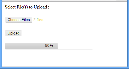 File Upload Progress Using JQuery UI Progressbar For Asp net