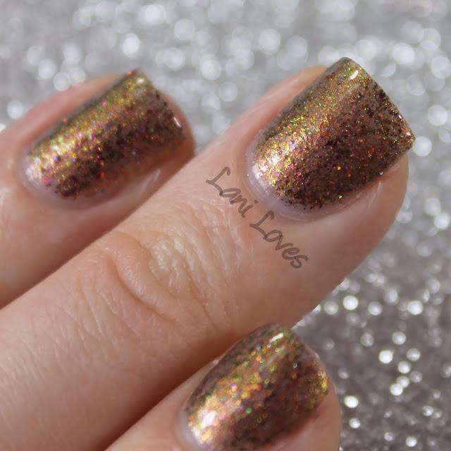 Femme Fatale Cosmetics Secret of Secrets nail polish swatches & review