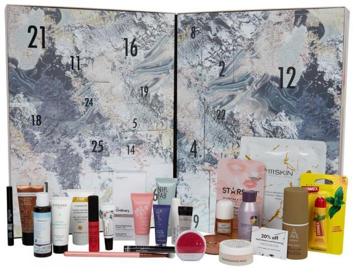 Here are the contents of the ASOS Beauty Advent Calendar 2017 - ships worldwide free.