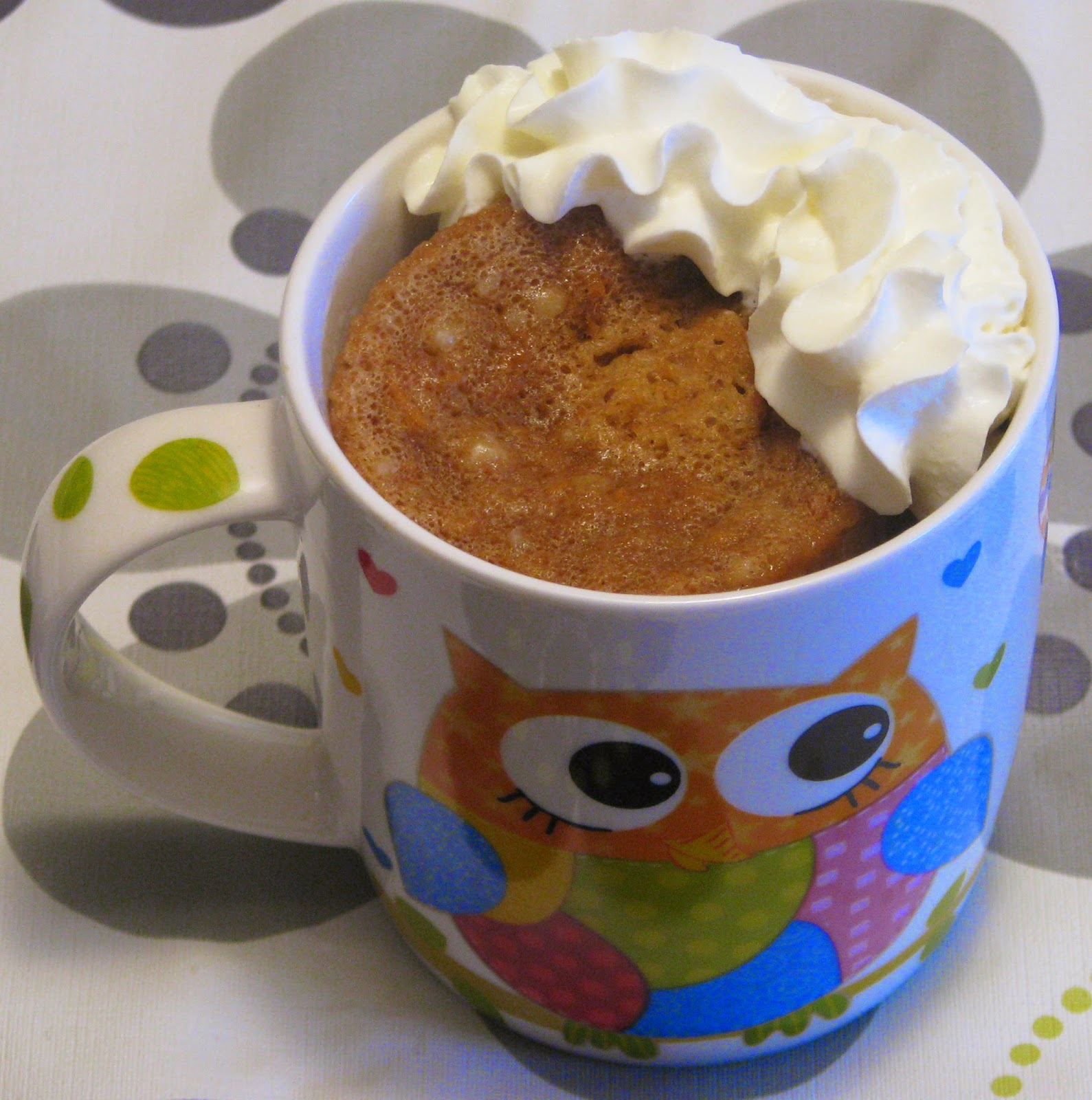Microwave Cupcakes In A Mug Using Cake Mix