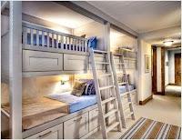 camas para niños en hogares de poco espacio