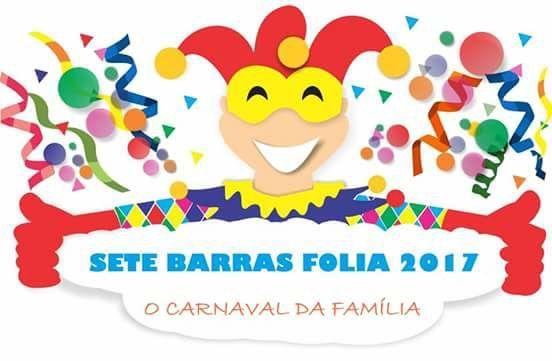 SETE BARRAS FOLIA 2017, O CARNAVAL DA FAMILIA