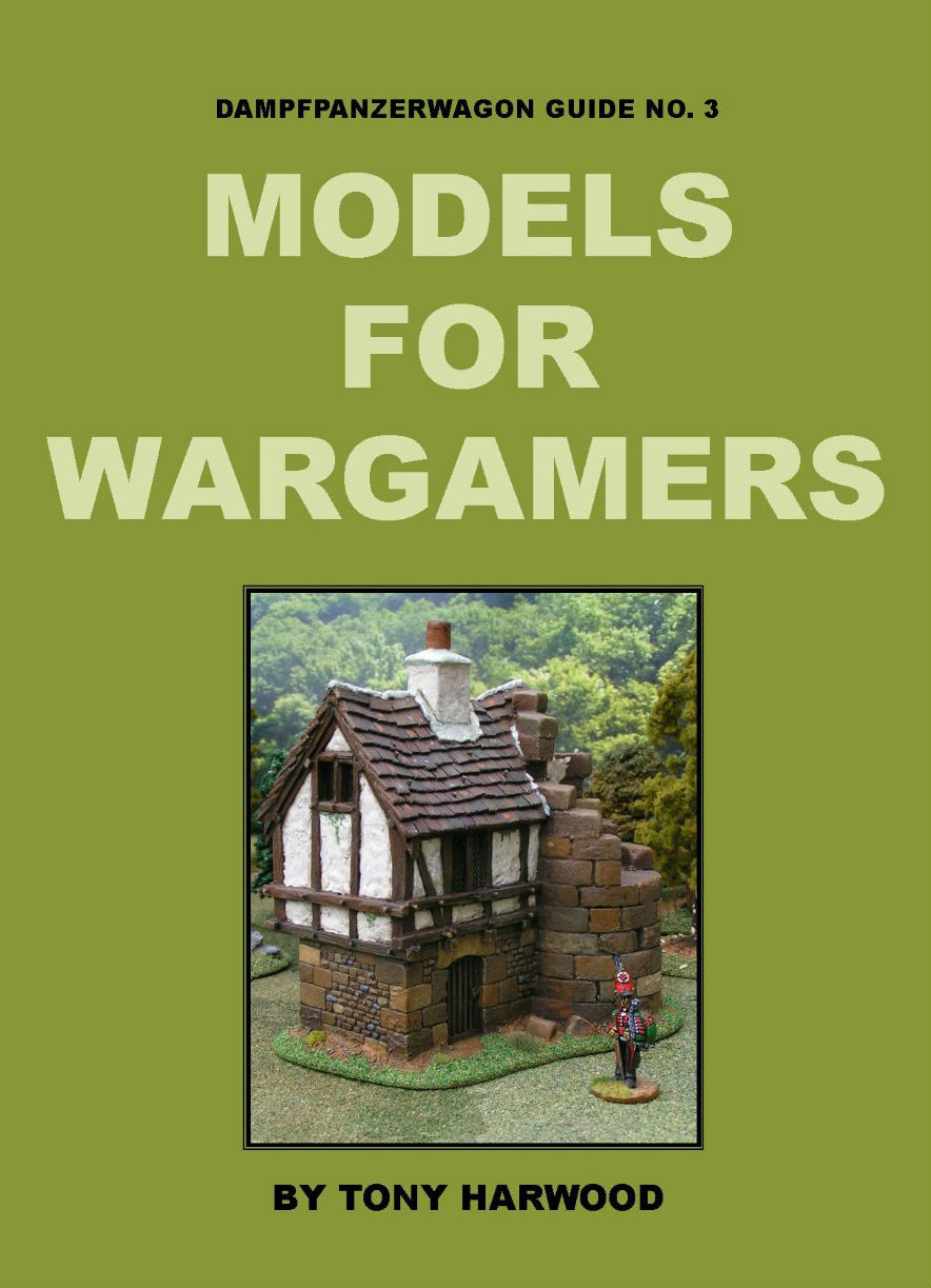 Link to Models for Wargamers book by Tony Harwood