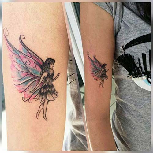 peri kadın kol dövmeleri fairy arm tattoo for woman