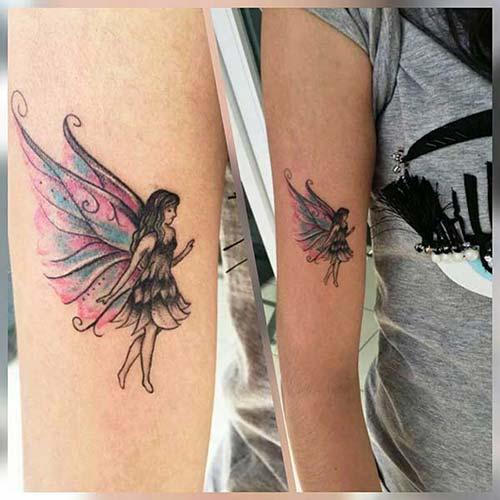 peri kadın kol dövmeleri fairy arm tattoo for woman