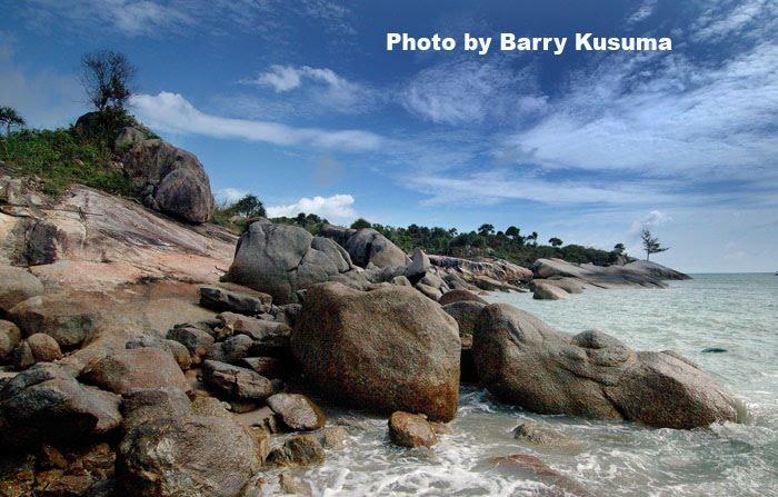 Pantai Tikus di Bangka Belitung