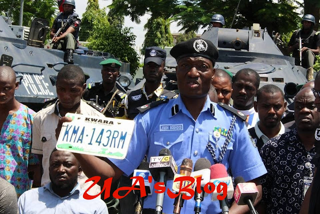 Saraki not invoved in the Robbery..Listen To Offa Bank Robbery Suspect Confession About How He Worked For Saraki (Audio)