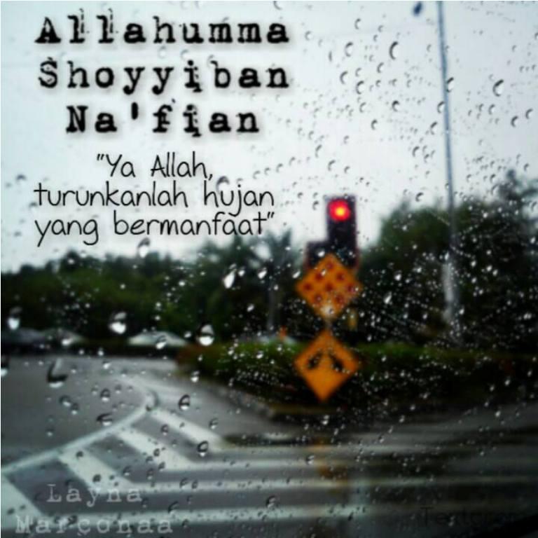 Ketika Kepercayaan 2: ~SeiNdAh CiNtA IsLaM~: :::... Doa Di Waktu Hujan ...:::