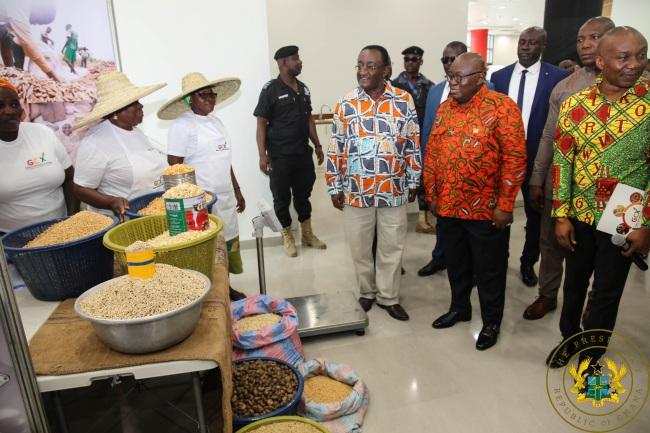 President Inaugurates Ghana Commodity Exchange