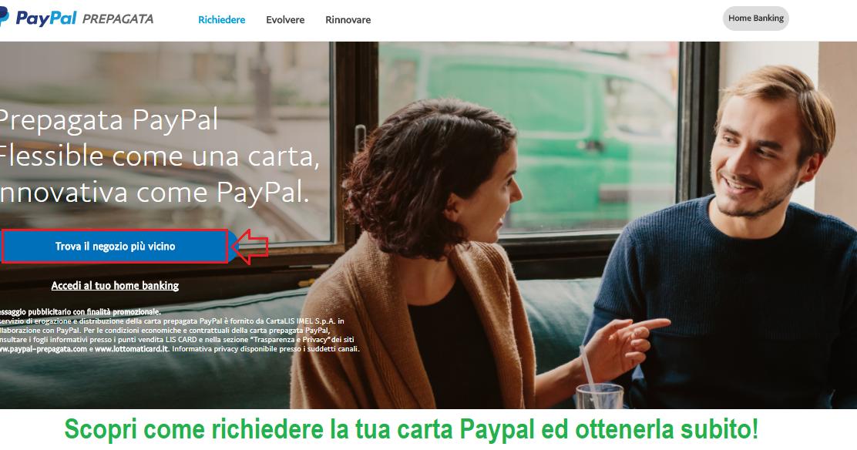 Come richiedere la carta prepagata Paypal e attivarla
