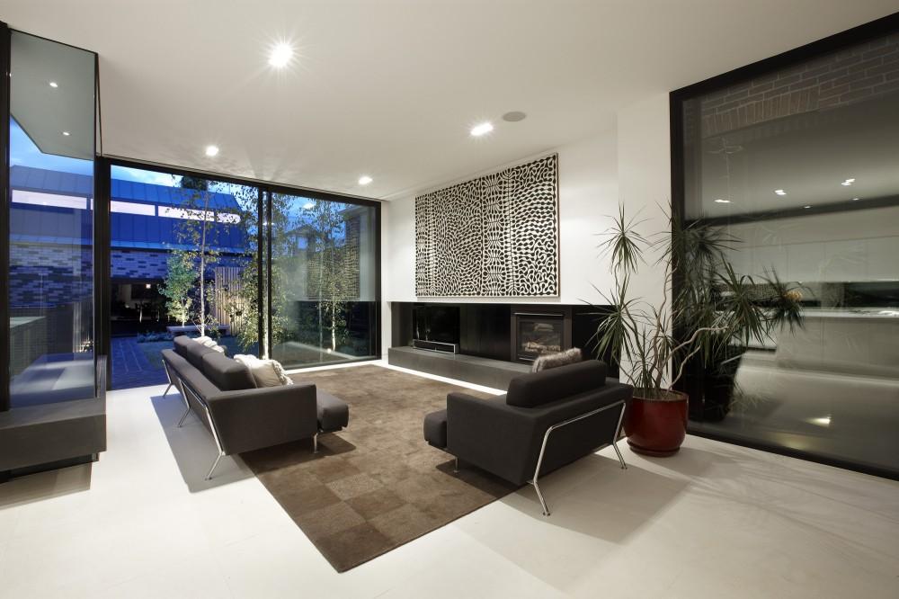 salas grandes y modernas ideas para decorar dise ar y mejorar tu casa. Black Bedroom Furniture Sets. Home Design Ideas