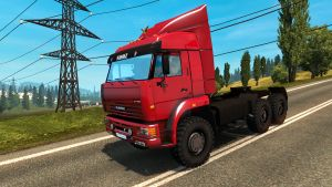 Kamaz 6460 truck updated by Koral