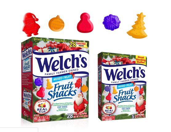 Welch S Christmas Themed Fruit Snacks Mail4rosey