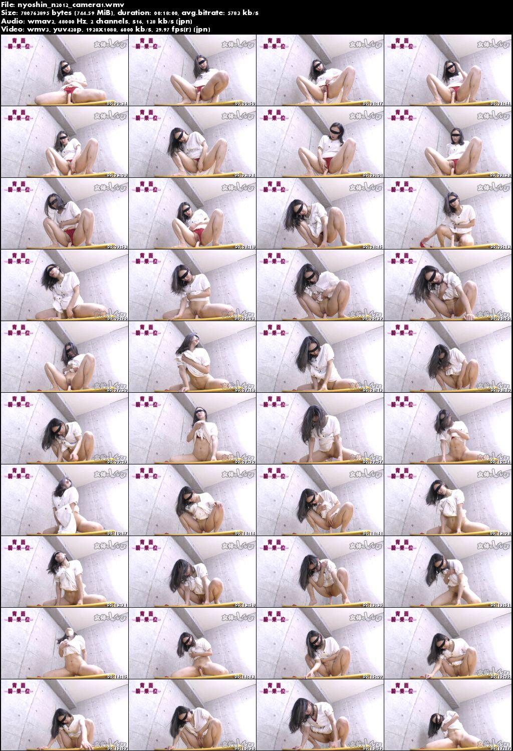 Nyoshin n2012 女体のしんぴ n2012 ちひろ / 背面騎乗位 / B: 84 W: 58 H: 82Real Street Angels