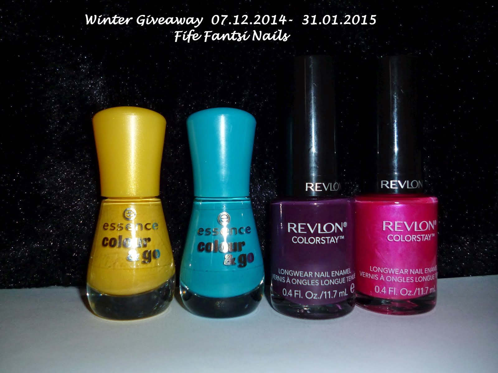 Winter Giveaway with  <b> <br>  Fife Fantasi Nails</b>