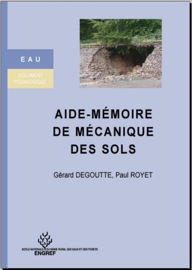 Livre : Aide-mémoire de mécanique des sols - Gérard Degoutte PDF