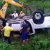 Prefeito do município de Forquilha sofre acidente na CE-362