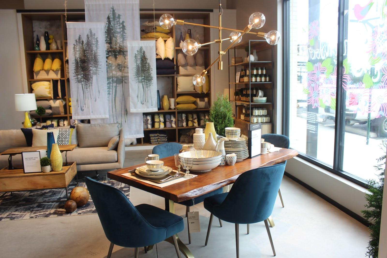 Modern Furniture Greensboro lifestyle | my tour of west elm greensboro | fabellis