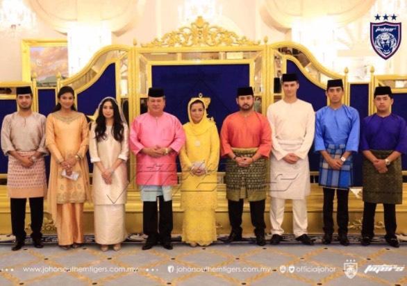 Gambar Sekitar Majlis Pernikahan Tunku Tun Aminah Dan Pasangannya, Dennis Muhammad Abdullah