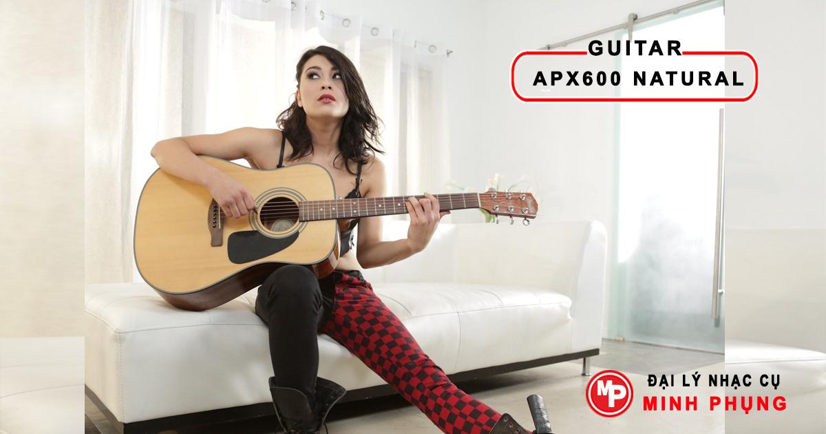 guitar yamaha apx 600