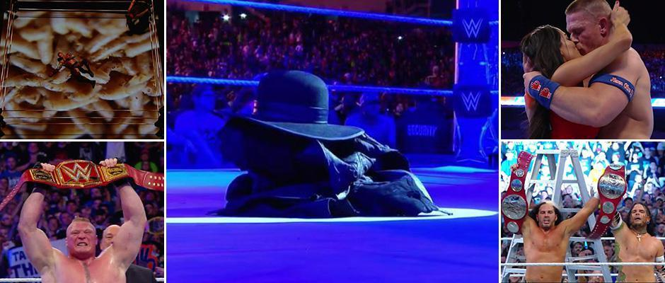 Undertaker retires while John Cena Proposes Nikki