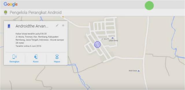cara melacak keberadaan pengguna hp android lewat google play