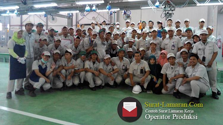 Contoh Surat Lamaran Kerja Operator Produksi 2020