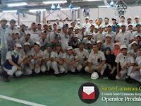 Contoh Surat Lamaran Kerja Operator Produksi 2018