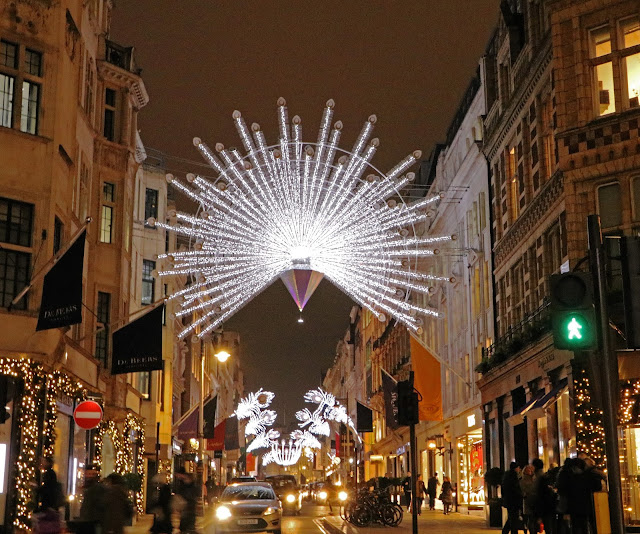 Buy wallart of Old Bond Street Lights