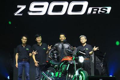 Launching Kawasaki Z900RS Indonesia
