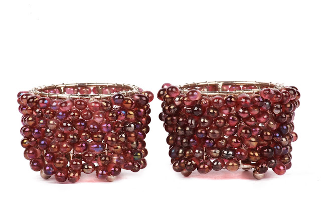 Pair of Moti Votive Holder_ INR 299