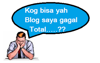 Blog gagal total
