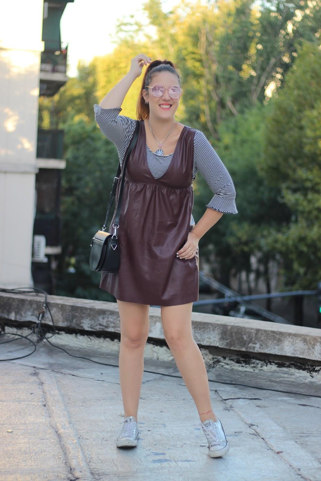 vestido para otoño