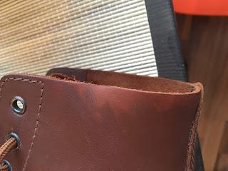 Rättisäärystimien hankaama kenkä