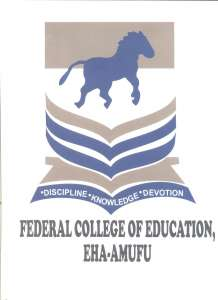 FCE Eha-Amufu (UNN Affiliate) Degree Admission Form - 2018/2019