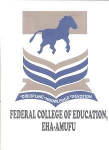 FCE Eha-Amufu (UNN Affiliate) Degree Admission Form 2020/2021
