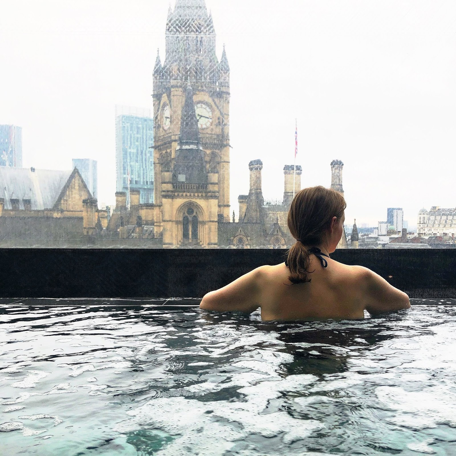 Suite King Street Townhouse, Manchester - Infinity Pool