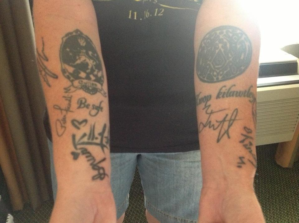 Twilight Wolf Pack Tattoo: Sam Uley And Quileute Tribe Wolf