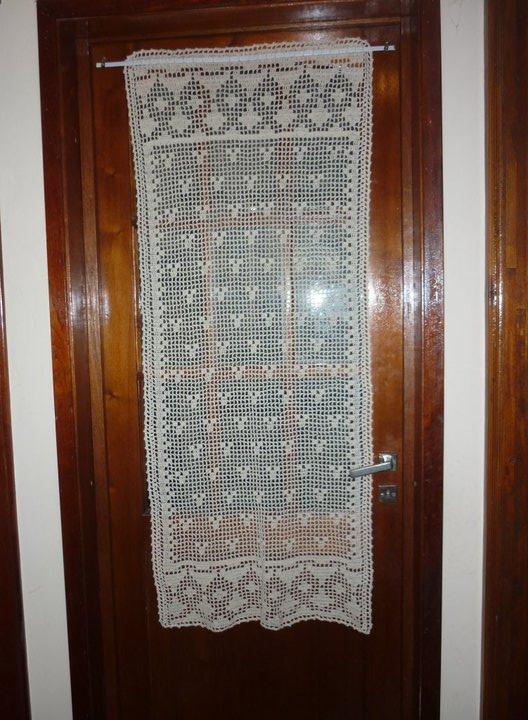 Cocina cortina de puerta for Cortinas puerta cocina