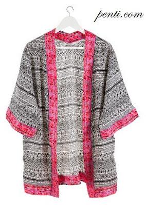 Penti Mohawk Kimono
