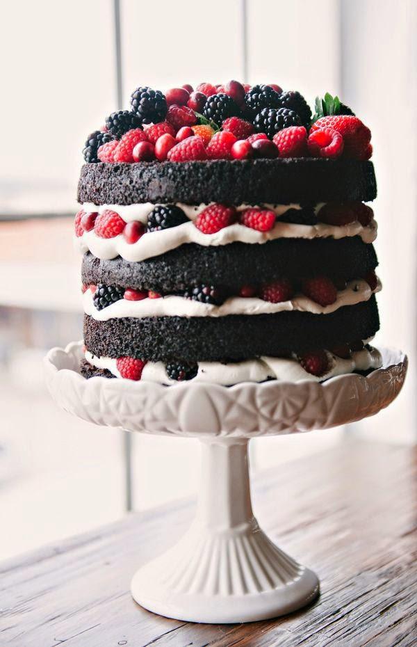 Naked Cake: o bolo pelado que conquistou as noivinhas